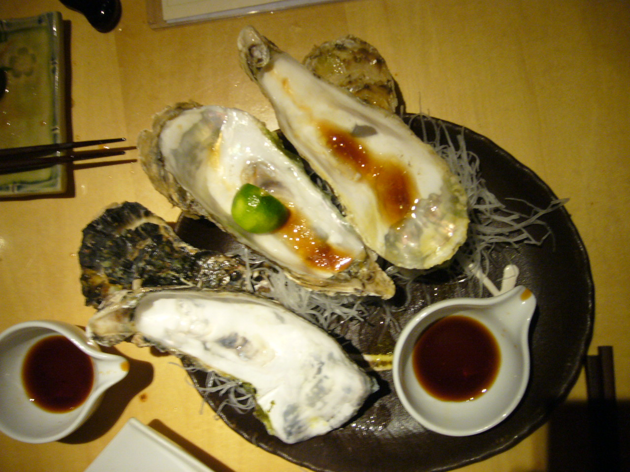 Empty Oysters