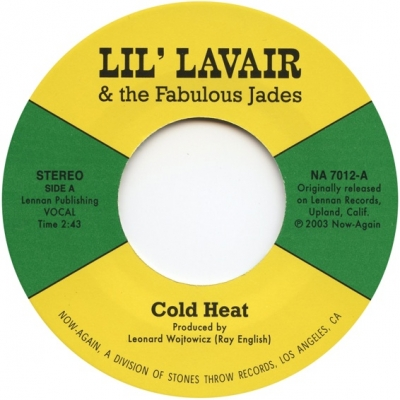 Lil' Lavair and the Fabulous Jades – Cold Heat