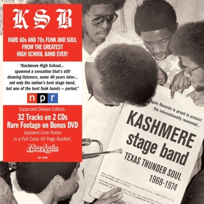 Kashmere Stage Band – Texas Thunder Soul 1968-1974 (Deluxe Edition)