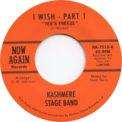 Kashmere Stage Band – I Wish (With Todd Terry Remix)