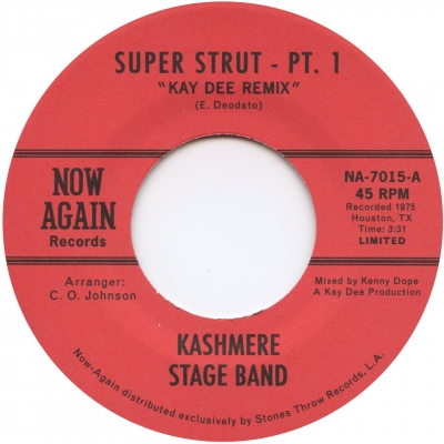 Kashmere Stage Band – Super Strut (With Kenny Dope Remix)