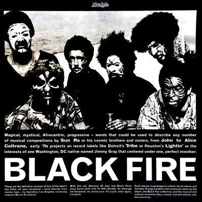 Various – Black Fire Box Set